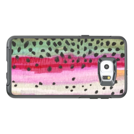 Rainbow Trout Fishing, Ichthyology OtterBox Samsung Galaxy S6 Edge Plus Case