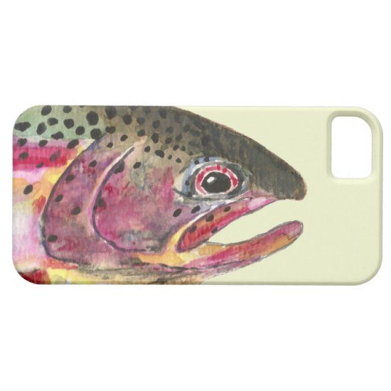 Rainbow Trout Fishing iPhone SE/5/5s Case