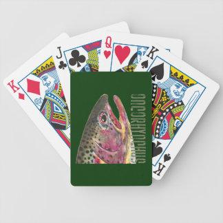Rainbow Trout Fishing Card Decks