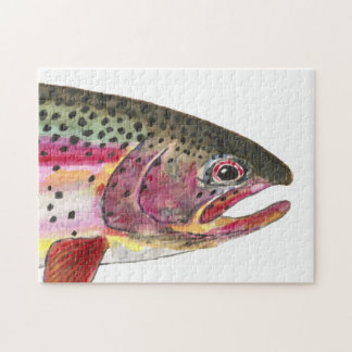 Rainbow Trout Fishing Puzzle