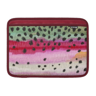 Rainbow Trout Fishing Sleeve For MacBook Air