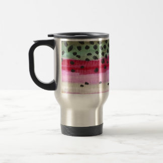 Rainbow Trout Fishing Travel Mug