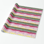 Rainbow Trout Fishing Wrapping Paper