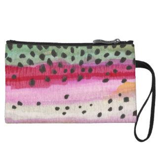 Rainbow Trout Fishing Wristlet Wallet