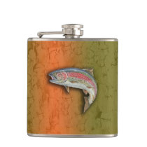Rainbow Trout Flask