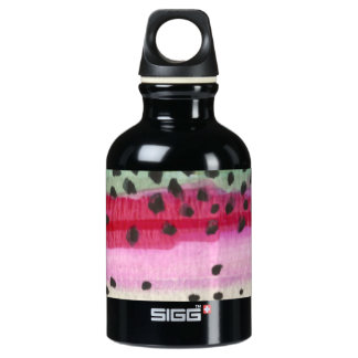 Rainbow Trout Fly Fisherman's Water Bottle