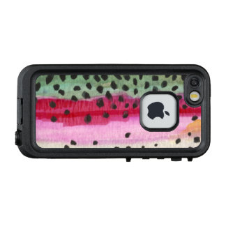 Rainbow Trout Fly Fishing Fisherman's LifeProof FRĒ iPhone SE/5/5s Case