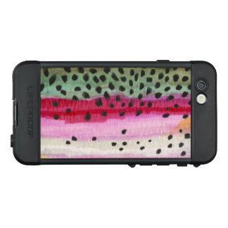 Rainbow Trout Fly Fishing Fisherman's LifeProof NÜÜD iPhone 6s Case