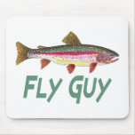 Rainbow Trout Fly Fishing Mousepads