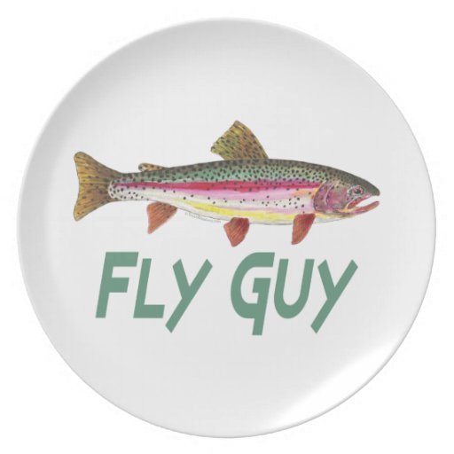 Rainbow Trout Fly FIshing Plates