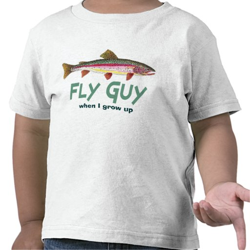 Rainbow Trout Fly FIshing Shirt