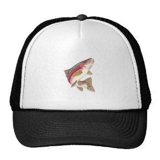 RAINBOW TROUT TRUCKER HATS