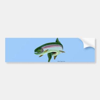 Rainbow Trout II Bumper Sticker