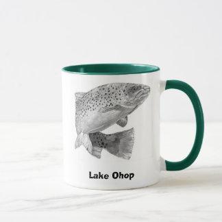 RAINBOW-TROUT, Lake Ohop, GoneFishin' Mug