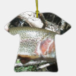 Rainbow trout ornaments