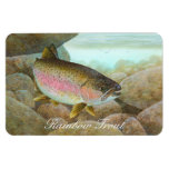 Rainbow Trout Painting Rectangular Photo Magnet