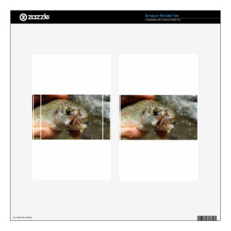 Rainbow Trout photo Kindle Fire Skins