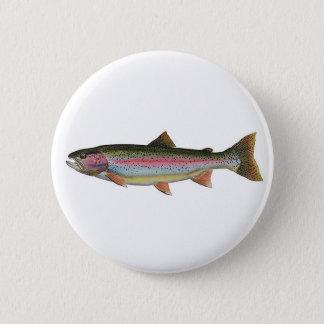 Rainbow Trout Pinback Button