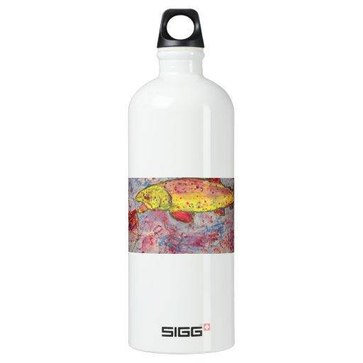 rainbow trout SIGG traveler 1.0L water bottle