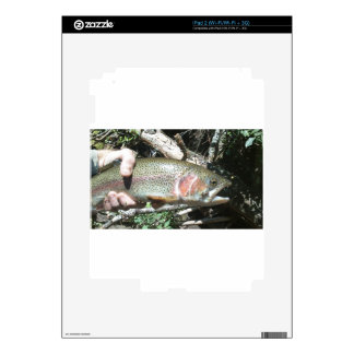 Rainbow trout skins for iPad 2