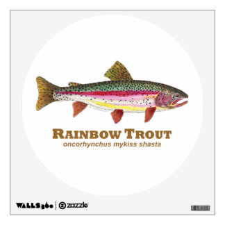 Rainbow Trout Wall Decal