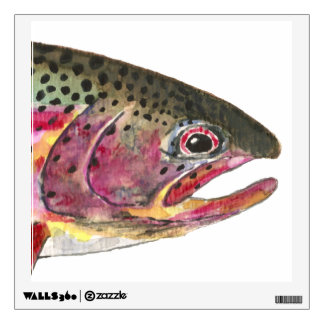 Rainbow Trout Wall Sticker