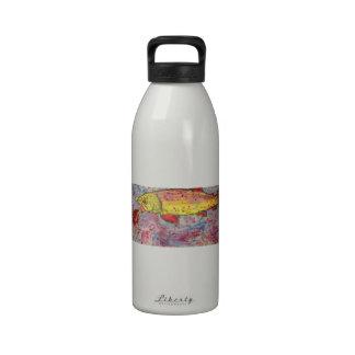 rainbow trout water bottle