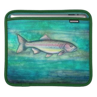 Rainbow Trout Wildlife Art iPad Sleeve