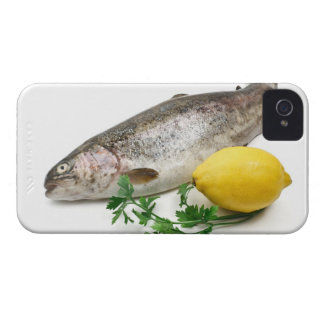 rainbow trout with lemon and parsley iPhone 4 Case-Mate case