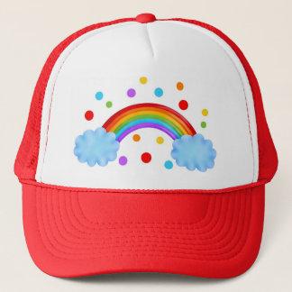 Rainbow Trucker Hat