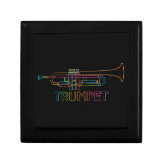 Rainbow Trumpet Jewelry Box