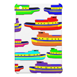 rainbow tugs iPad mini cases