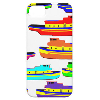 rainbow tugs iPhone SE/5/5s case