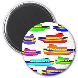 rainbow tugs magnet