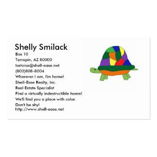 Rainbow Turtle business card