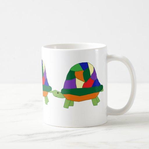 Rainbow Turtle mug