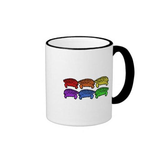 Rainbow Turtles Mug