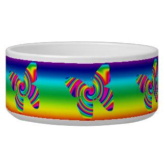 Rainbow Twirl Butterfly Bowl