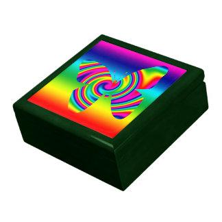 Rainbow Twirl Butterfly Gift Box
