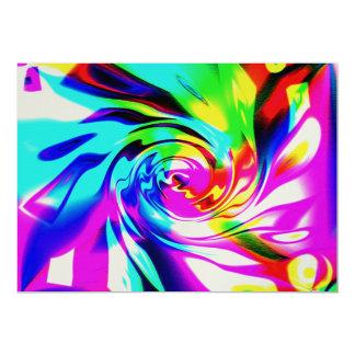 Rainbow Twirl Card