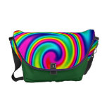 Rainbow Twirl Messenger Bag