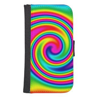 Rainbow Twirl Phone Wallets