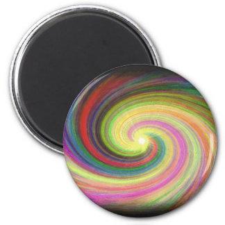 Rainbow Twister Magnet