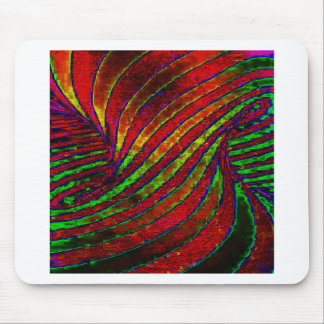 Rainbow Twister Mouse Pad