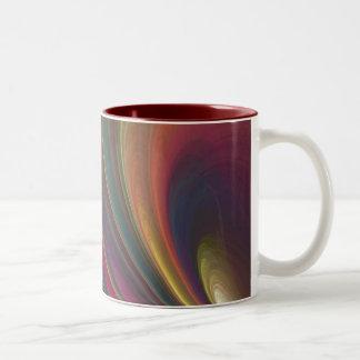 Rainbow Two-Tone Coffee Mug