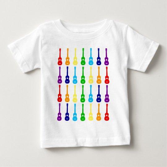 Rainbow Ukes Baby T-Shirt