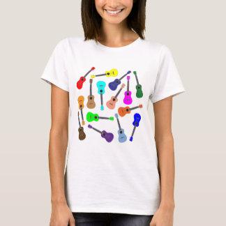 Rainbow Ukulele T-Shirt
