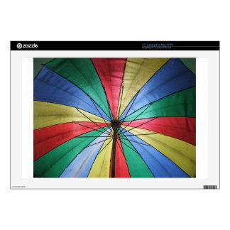 Rainbow Umbrella Decals For Laptops