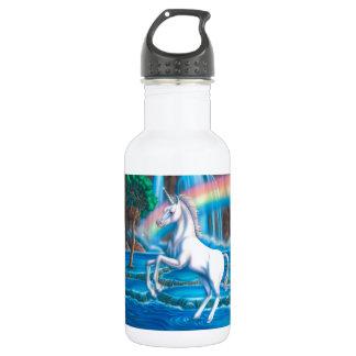 Rainbow Unicorn 18oz Water Bottle