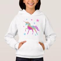 Rainbow Unicorn And Stars Sweatshirt